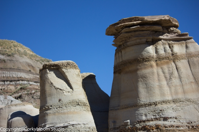 Hoodo Trail rock foundation